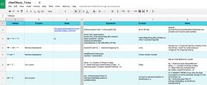 jorge caneda scripts expressions google document