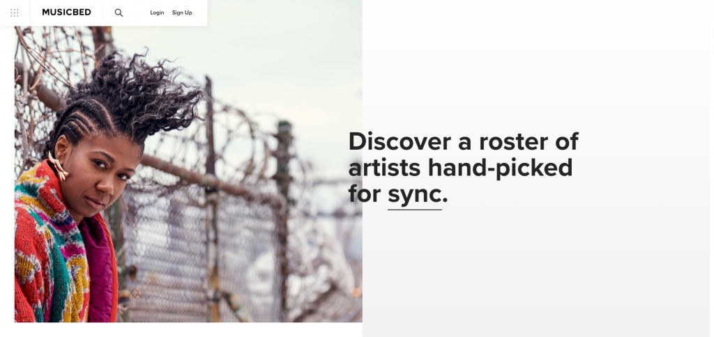music bed royalty-free stock music site review