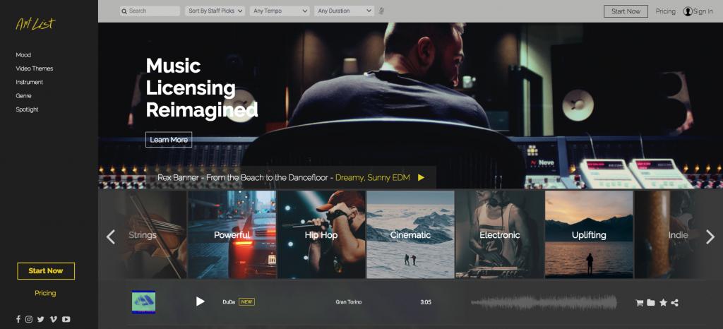 artlist music licensing reimagined
