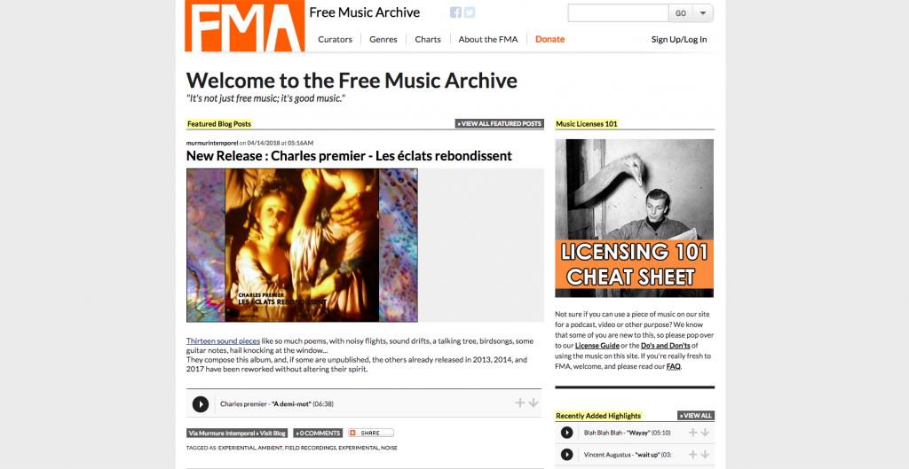 free music archive free stock music